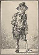 A Drunken Man Standing