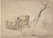 Carriage In A Landscape