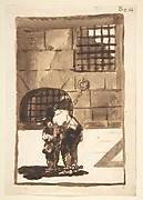 Two Prisoners in Irons, from Images of Spain Album (F), 80