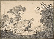 Peasant Couple in an Extensive Landscape