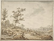 Landscape with Herdsmen and Their Cattle