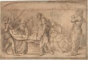 The Entombment, after Mantegna