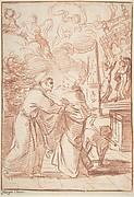 Saint Francis Meeting Saint Dominic
