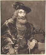 Half-length Portrait of a Bearded Man in Historical Dress