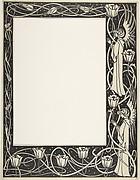 Border Design for Thomas Malory's Le Morte d'Arthur (J. M. Dent 1893–94 edition, Part III, Book VII, Chapter I, p. 219)