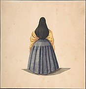 A Standing Woman, Seen from the Back