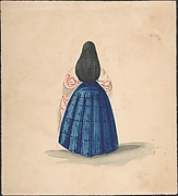 A Standing Woman Seen from the Back