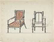 Two Carved-Wood Armchairs