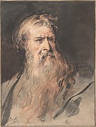 Study for the figure of Moses