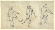 Study of Three Figures Skating