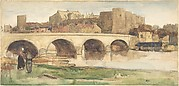View of a Bridge at Angers