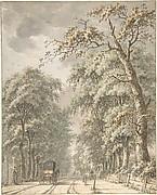 The Amstelveen Road from Amsterdam towards Amstelveen