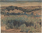 Landscape near Auvers