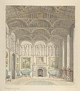 Drawing Room of Lea Castle, Looking West