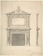 Design for a Chimney-piece, for Thomas Hollis of Lincoln's Inn, London