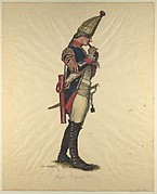 Prussian Military Costume: Regiment von Meyring 1757
