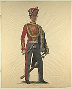 Prussian Military Costume: Garde Hussar 1843