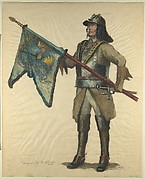 Prussian Military Costume: Derfflinger 1680