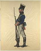 Prussian Military Costume: Artilleryman 1805