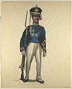 Prussian Military Costume: Brandenburg Sapper 1810