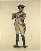 Prussian Military Costume: Regiment v. Hülsen 1760 (Fifer)