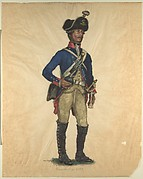 Prussian Military Costume: Mineurs-Corps 1797