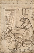 The Childhood of Christ, in the carpenter&amp;#39;s shop