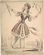 Miss Horton as Morgana