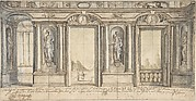 Design for a Painted Wall Decoration for Palazzo Massimo all'Aracoeli (Rome)