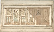 Design for Decoration of a Drawing Room