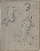 Studies for the Figure of a Centaur and a Nymph