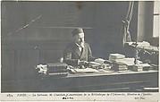 1834, Paris, La Sorbonne, M. Chatelain, Conservateur de la Bibilioteque de l'Université, Membre de l'Institut