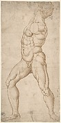 Study of a Standing Male Nude