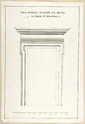 Design Elevation for an Interior Door in the Loggia of Pope Julius [III.]