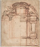 Sketch for Wall Monument
