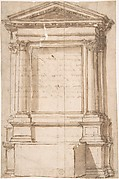 Architectural Frame for Altar