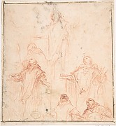 Studies of a Monk in Ecstasy