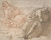 Two Sleeping Figures