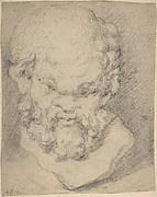 Head of Silenus