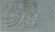 Fight Between Perseus And Phineus in the Palace of Cephus