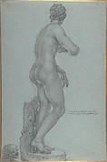 Venus de' Medici; view from the back
