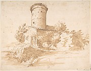 Landscape with Cylindrical Tower