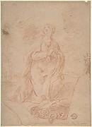 Virgin Kneeling in Prayer
