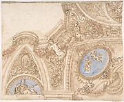 Design for the Corner of a Ceiling