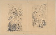 "Cover designs for ""Ulenspiegel au Salon"""