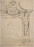 Framing Element with Figures (?)
