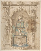 Design for a Grotto with a Fountain