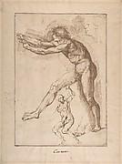 Studies of a Nude Male Figure