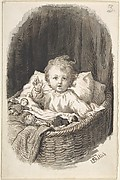 Child in a Crib