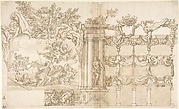 Design for a Theatre, or Hall for a Special Fête